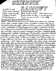 Dziennik Radiowy 1942, nr 117