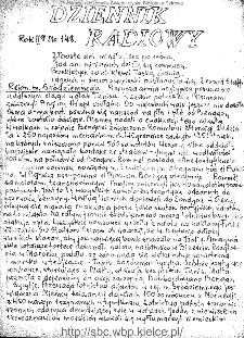 Dziennik Radiowy 1942, nr 148