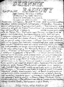 Dziennik Radiowy 1942, nr 153