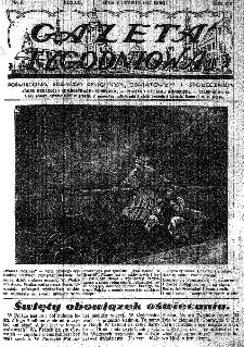 Gazeta Tygodniowa. Poświęcona sprawom religijnym, oświatowym i społecznym,1937, R.8, nr 6