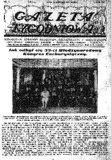 Gazeta Tygodniowa. Poświęcona sprawom religijnym, oświatowym i społecznym,1937, R.8, nr 8