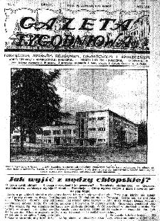 Gazeta Tygodniowa. Poświęcona sprawom religijnym, oświatowym i społecznym,1937, R.8, nr 9