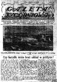 Gazeta Tygodniowa. Poświęcona sprawom religijnym, oświatowym i społecznym,1937, R.8, nr 11