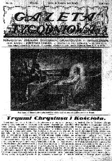 Gazeta Tygodniowa. Poświęcona sprawom religijnym, oświatowym i społecznym,1937, R.8, nr 13
