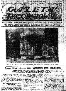 Gazeta Tygodniowa. Poświęcona sprawom religijnym, oświatowym i społecznym,1937, R.8, nr 15