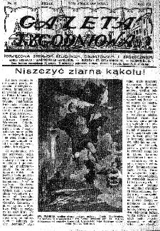 Gazeta Tygodniowa. Poświęcona sprawom religijnym, oświatowym i społecznym,1937, R.8, nr 18