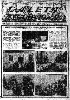 Gazeta Tygodniowa. Poświęcona sprawom religijnym, oświatowym i społecznym,1937, R.8, nr 21