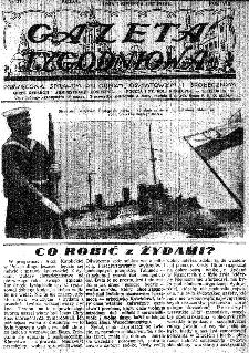 Gazeta Tygodniowa. Poświęcona sprawom religijnym, oświatowym i społecznym,1937, R.8, nr 31