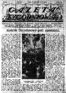 Gazeta Tygodniowa. Poświęcona sprawom religijnym, oświatowym i społecznym,1937, R.8, nr 32