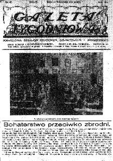 Gazeta Tygodniowa. Poświęcona sprawom religijnym, oświatowym i społecznym,1937, R.8, nr 37