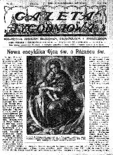 Gazeta Tygodniowa. Poświęcona sprawom religijnym, oświatowym i społecznym,1937, R.8, nr 42