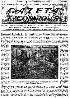 Gazeta Tygodniowa. Poświęcona sprawom religijnym, oświatowym i społecznym,1937, R.8, nr 45