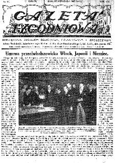 Gazeta Tygodniowa. Poświęcona sprawom religijnym, oświatowym i społecznym,1937, R.8, nr 47