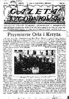 Gazeta Tygodniowa. Poświęcona sprawom religijnym, oświatowym i społecznym,1938, R.9, nr 42