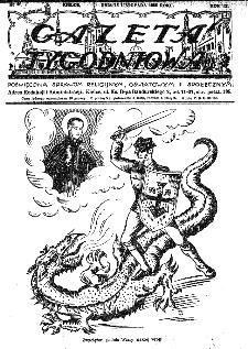 Gazeta Tygodniowa. Poświęcona sprawom religijnym, oświatowym i społecznym,1938, R.9, nr 46