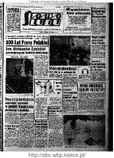 Słowo Ludu : organ Komitetu Wojewódzkiego Polskiej Zjednoczonej Partii Robotniczej, 1961, R.13, nr 3