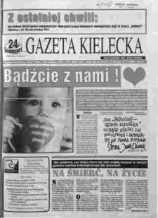 Gazeta Kielecka: 24 godziny, 1995, R.7, nr 102