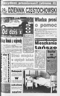Dziennik Częstochowski : 24 godziny, 1992, R.3, nr 55