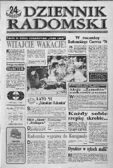 Dziennik Radomski : 24 godziny, 1992, R.2, nr 122