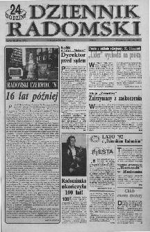 Dziennik Radomski : 24 godziny, 1992, R.2, nr 123
