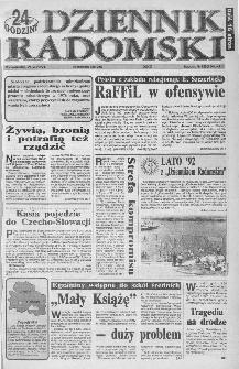 Dziennik Radomski : 24 godziny, 1992, R.2, nr 125