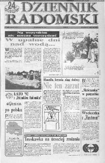 Dziennik Radomski : 24 godziny, 1992, R.2, nr 126