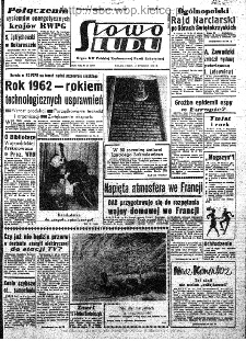 Słowo Ludu : organ Komitetu Wojewódzkiego Polskiej Zjednoczonej Partii Robotniczej, 1962, R.14, nr 10