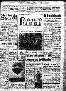 Słowo Ludu : organ Komitetu Wojewódzkiego Polskiej Zjednoczonej Partii Robotniczej, 1962, R.14, nr 19