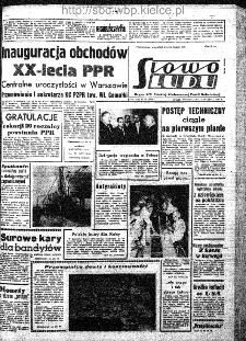 Słowo Ludu : organ Komitetu Wojewódzkiego Polskiej Zjednoczonej Partii Robotniczej, 1962, R.14, nr 22