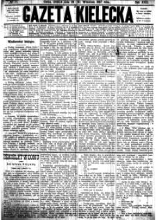 Kalendarz wydawnictwa Gazety Kieleckiej na rok 1887