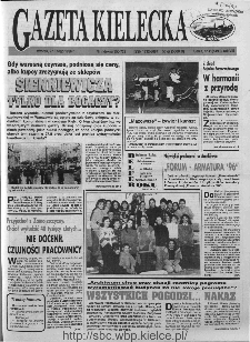 Gazeta Kielecka, 1996, R.8, nr 41