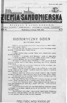 Ziemia Sandomierska. Czasopismo samorządowo-społeczne: tygodnik, 1934, nr 6