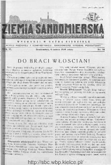 Ziemia Sandomierska. Czasopismo samorządowo-społeczne: tygodnik, 1934, nr 10