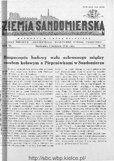 Ziemia Sandomierska. Czasopismo samorządowo-społeczne: tygodnik, 1934, nr 15