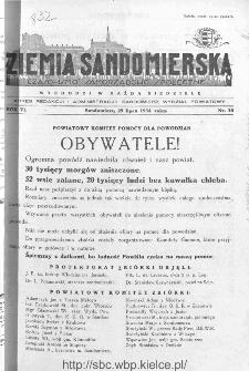 Ziemia Sandomierska. Czasopismo samorządowo-społeczne: tygodnik, 1934, nr 30