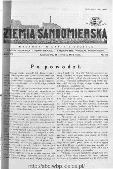 Ziemia Sandomierska. Czasopismo samorządowo-społeczne: tygodnik, 1934, nr 34