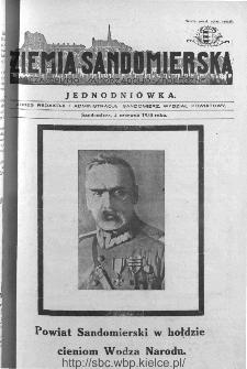 Ziemia Sandomierska. Czasopismo samorządowo-społeczne: tygodnik, 1935, nr 18