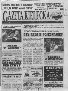 Gazeta Kielecka, 1996, R.8, nr 129
