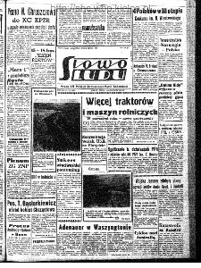 Słowo Ludu : organ Komitetu Wojewódzkiego Polskiej Zjednoczonej Partii Robotniczej, 1962, R.14, nr 318