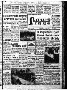 Słowo Ludu : organ Komitetu Wojewódzkiego Polskiej Zjednoczonej Partii Robotniczej, 1963, R.15, nr 11