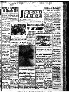 Słowo Ludu : organ Komitetu Wojewódzkiego Polskiej Zjednoczonej Partii Robotniczej, 1963, R.15, nr 14