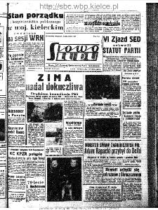 Słowo Ludu : organ Komitetu Wojewódzkiego Polskiej Zjednoczonej Partii Robotniczej, 1963, R.15, nr 21