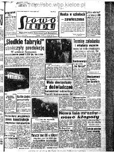 Słowo Ludu : organ Komitetu Wojewódzkiego Polskiej Zjednoczonej Partii Robotniczej, 1963, R.15, nr 32