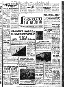 Słowo Ludu : organ Komitetu Wojewódzkiego Polskiej Zjednoczonej Partii Robotniczej, 1963, R.15, nr 53