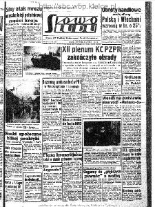 Słowo Ludu : organ Komitetu Wojewódzkiego Polskiej Zjednoczonej Partii Robotniczej, 1963, R.15, nr 59