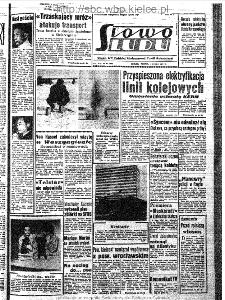 Słowo Ludu : organ Komitetu Wojewódzkiego Polskiej Zjednoczonej Partii Robotniczej, 1963, R.15, nr 60