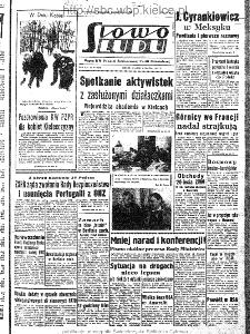 Słowo Ludu : organ Komitetu Wojewódzkiego Polskiej Zjednoczonej Partii Robotniczej, 1963, R.15, nr 67