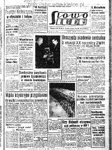 Słowo Ludu : organ Komitetu Wojewódzkiego Polskiej Zjednoczonej Partii Robotniczej, 1963, R.15, nr 71