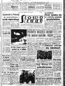 Słowo Ludu : organ Komitetu Wojewódzkiego Polskiej Zjednoczonej Partii Robotniczej, 1963, R.15, nr 84