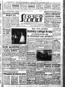 Słowo Ludu : organ Komitetu Wojewódzkiego Polskiej Zjednoczonej Partii Robotniczej, 1963, R.15, nr 86